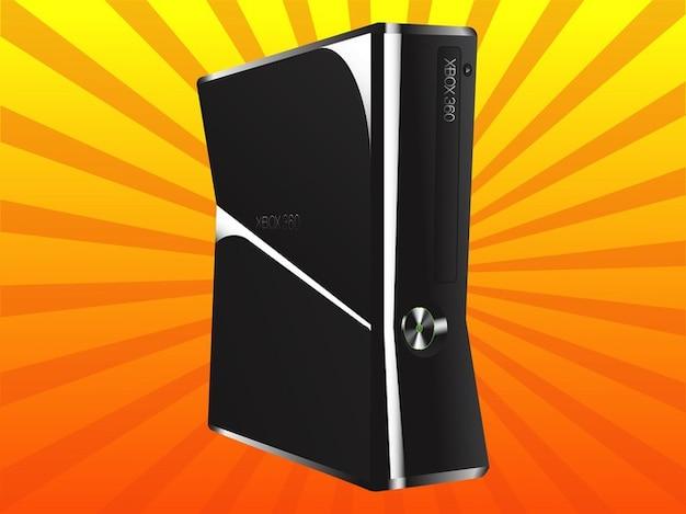 Microsoft xbox-gaming-technologie vektor