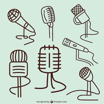 Mikrofon skizzen