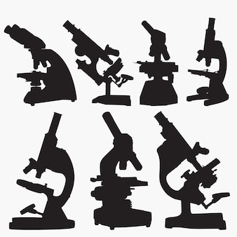 Mikroskop-schattenbilder