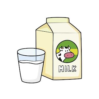 Milch tetrabrick