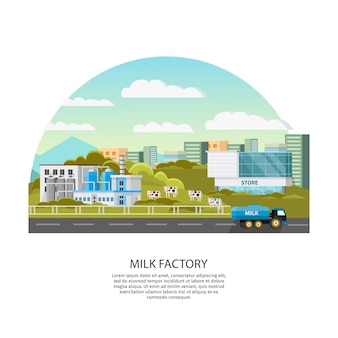 Milchfabrik vorlage