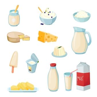 Milchprodukte eingestellt