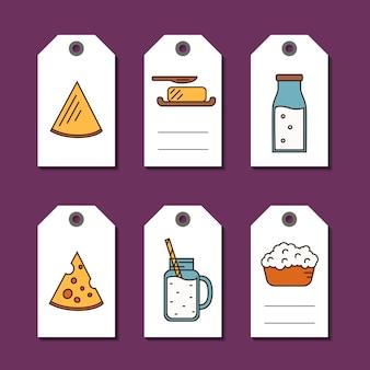 Milchprodukte verkauf tags festgelegt