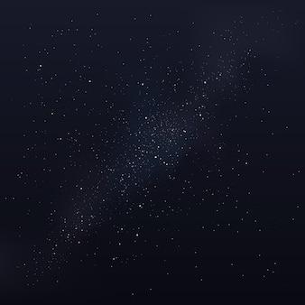 Milchstraße, nachthimmel mit sternen