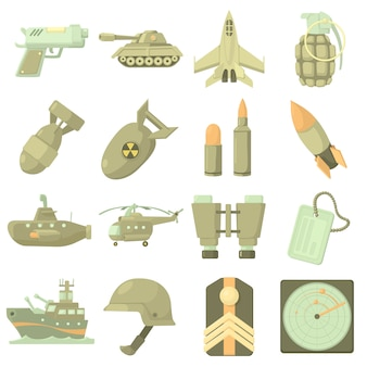 Militärische symbole festgelegt