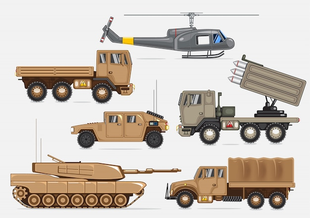 Militärischer transport