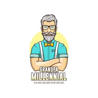 Millenial opa logo