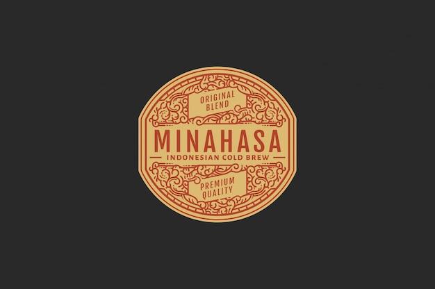 Minahasa cold brew coffee farbe