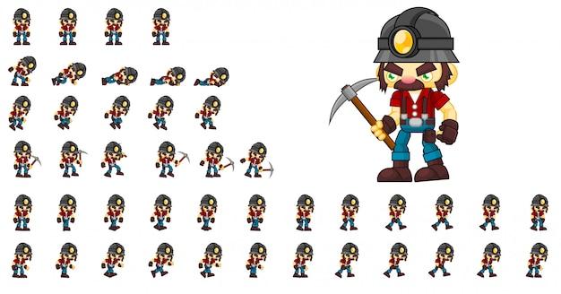 Miner game charakter