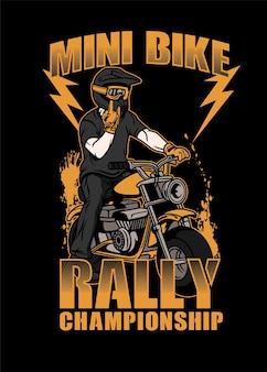 Mini bike rallye