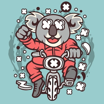 Minibike koala