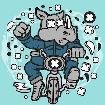 Minibike rhino