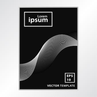 Minimal business broschüre cover design