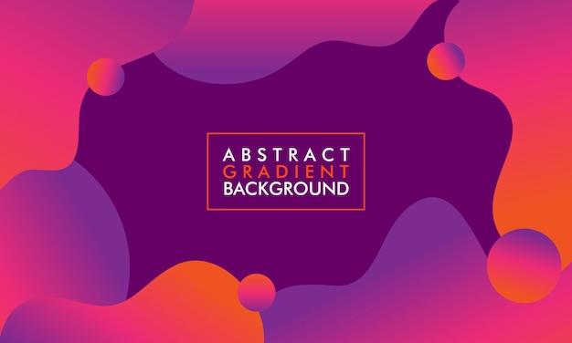 Minimale abstrakte form mit farbverlauf für broschüren, poster, broschüren, buchcover