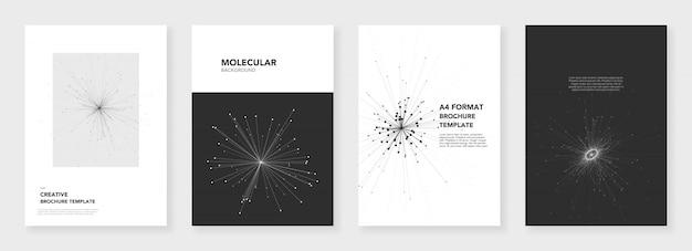 Minimale broschürenvorlagen