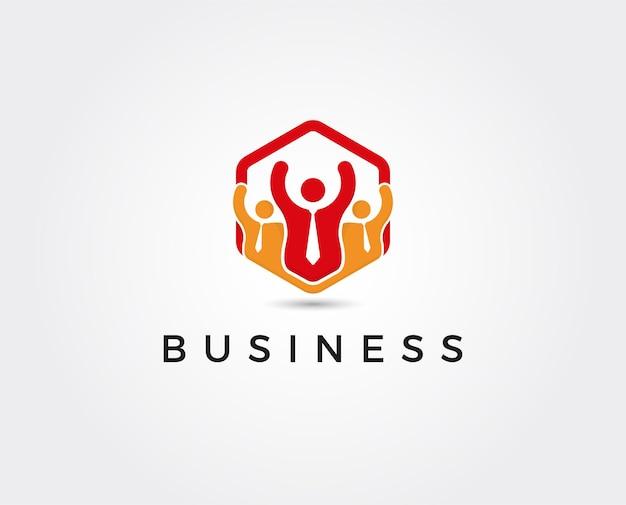 Minimale business-logo-vorlage