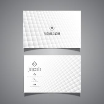 Minimale design-visitenkarte