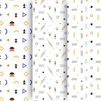 Minimale geometrische mustersammlung