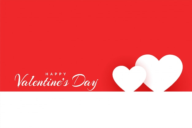 Minimale glückliche valentinstagliebes-designkarte
