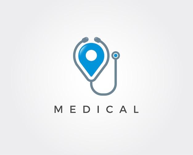 Minimale medizinische logo-vorlage