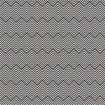 Minimale moderne grafische musterdreiecklinie 3d musterfarbe der geometrischen diamantfliese schwarzweiss