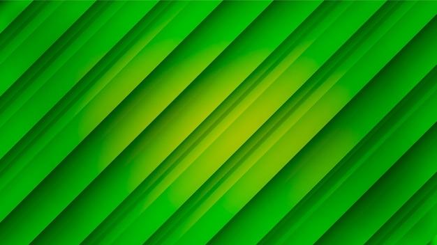 Minimaler geometrischer grüner hintergrund mit farbverlauf.