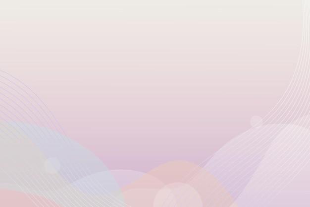 Minimaler hintergrund mit abstrakten formen