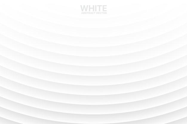 Minimaler weißer leerer subtiler geometrischer abstrakter hintergrund
