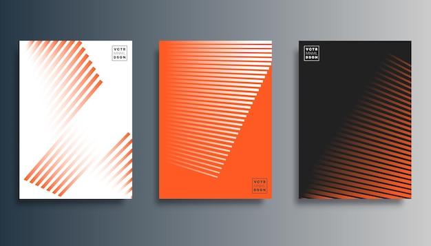 Minimales design mit farbverlauf für flyer, poster, broschürencover, hintergrund, tapeten, typografie oder andere druckprodukte. vektor-illustration.