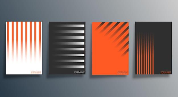 Minimales geometrisches design für flyer, poster, broschürenumschlag, hintergrund, tapete, typografie oder andere druckprodukte. vektorillustration.