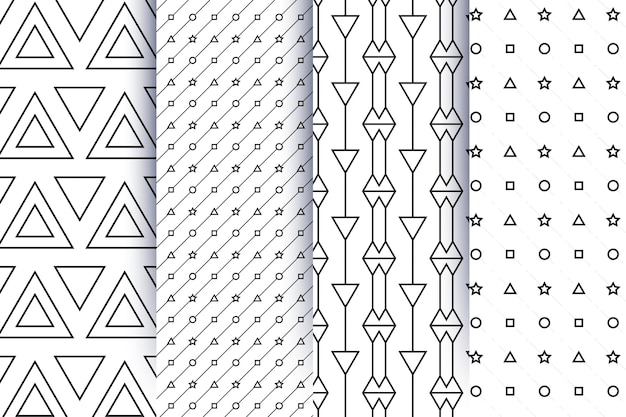 Minimales geometrisches muster
