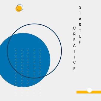 Minimales website-banner-design-set
