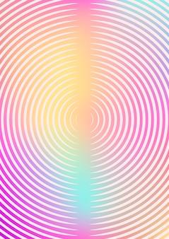 Minimalistic hintergrund mit farbverläufen gesetzt