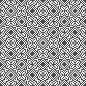Minimalistische geometrische linie abstraktes nahtloses muster