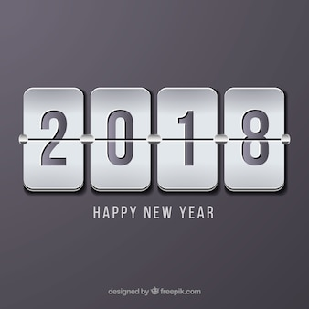 Minimalistische graue neujahr hintergrund