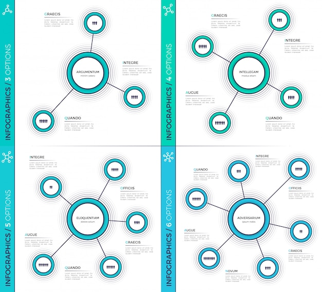 Minimalistische kreative infografik charts, schemata, s.