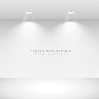 Minimalistischem studio-hintergrund