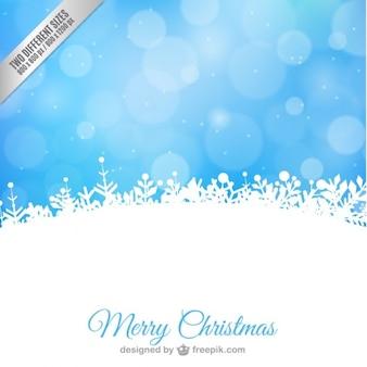 Minimalistischen design-weihnachtskarte