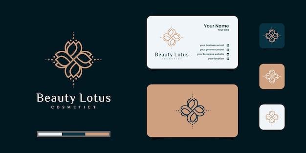 Minimalistischer, eleganter blumenrosen-luxus-schönheitssalon