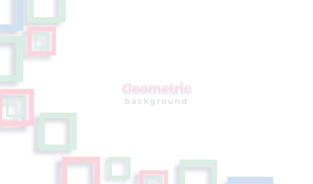 Minimalistischer geometrischer hintergrund