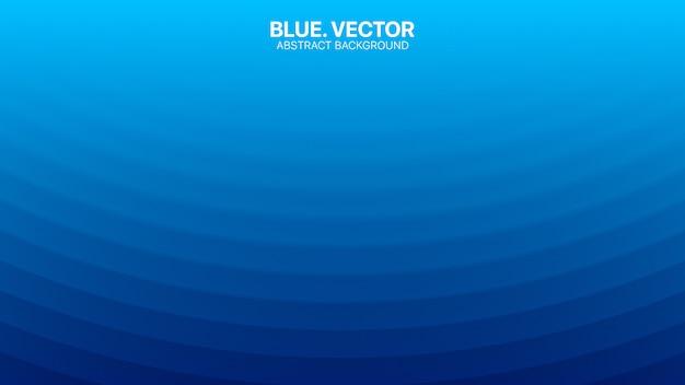 Minimalistischer verschwommener linien-blauer abstrakter hintergrund