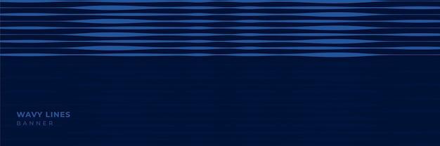 Minimalistisches banner mit geometrischen formen