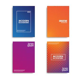 Minimalistisches cover-design