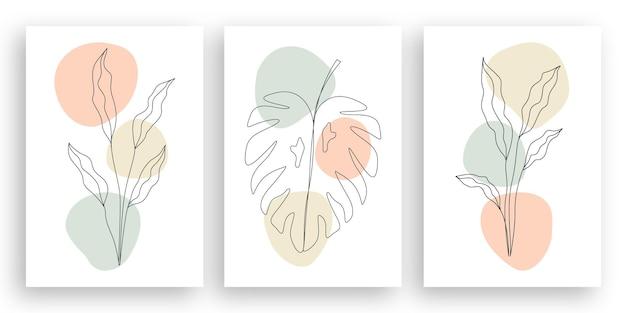 Minimalistisches einzeilendes paar, das gesichtsillustration im strichkunststil küsst Premium Vektoren