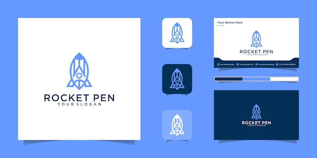 Minimalistisches elegantes blumenlogo für schönheit, kosmetik, yoga und spa. logo-design und visitenkarte