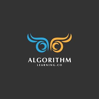 Minimalistisches initialen-logo-konzept mit buchstaben a