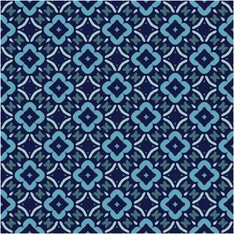 Minimalistisches nahtloses musterdesign mit ethnischem stil