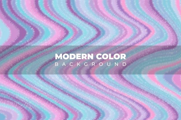 Mischung von acrylfarben flüssige textur fließende kunstfarbe rosa wellenhintergrund