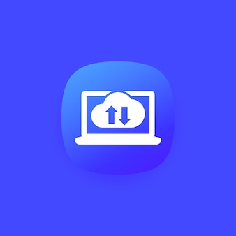 Mit cloud synchronisieren, synchronisierungssymbol für apps und web