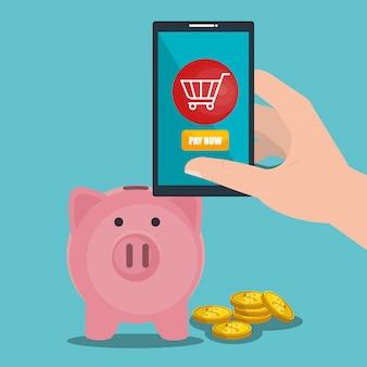 Mit dem smartphone geld sparen